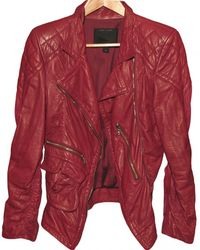 Marc Jacobs - Leather Jacket - Lyst
