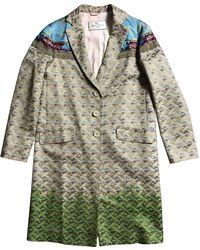 Etro - Pre-owned Silk Coat - Lyst