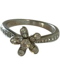 Van Cleef & Arpels - White Gold Ring - Lyst