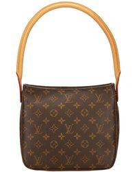 2057d1f04 Louis Vuitton Saumur 30 Messenger Bag - Vintage in Brown - Lyst