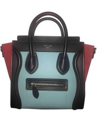 Céline - Pre-owned Nano Luggage Leather Handbag - Lyst