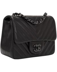 Chanel - Pre-owned Timeless Leather Handbag - Lyst