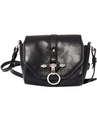 cf79506f684c Lyst - Givenchy Obsedia Leather Crossbody Bag in Blue