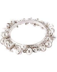 Chanel - Silver Metal Bracelets - Lyst