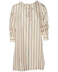A.P.C. - Silk Mid-length Dress - Lyst