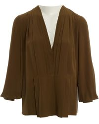 Givenchy - Silk Blouse - Lyst