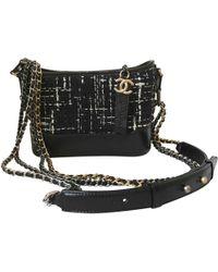 Chanel - Pre-owned Gabrielle Tweed Handbag - Lyst