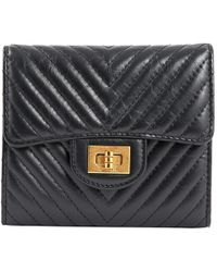 4e1acfa38a2a Chanel [] Two Fold Wallet / A 48667 in Black - Lyst