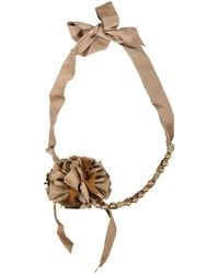 Lanvin - Brown Other Necklace - Lyst