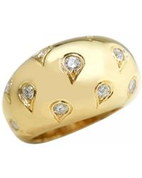 Cartier - Pre-owned Yellow Gold Ring - Lyst