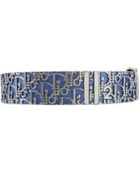 Dior - Pre-owned Blue Metal Bracelet - Lyst
