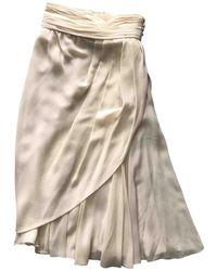Chanel - Vintage Other Silk Skirt - Lyst