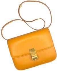 Céline Pre-owned Classic Python Handbag in Gray - Lyst cb187f31c1