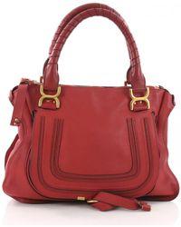 Chloé - Marcie Leather Handbag - Lyst