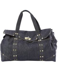342ff04b38 Mulberry Clipper Refined-Canvas Weekend Bag in Blue for Men - Lyst
