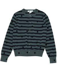 Comme des Garçons - Pre-owned Wool Cardigan - Lyst