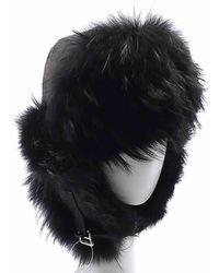 5f40b0d0d29fa Chanel Stunning Rare Rare Cc Logo Rabbit Felt Hat And Feather Black ...
