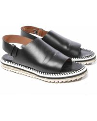Givenchy - Leather Sandals - Lyst