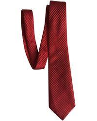 Louis Vuitton - Red Silk - Lyst