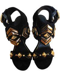 Louis Vuitton - Pre-owned Sandals - Lyst