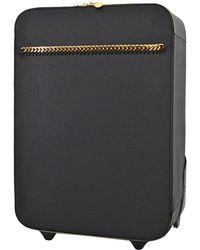 Stella McCartney - Falabella Black Synthetic Travel Bag - Lyst