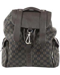 Loewe Backpack Brown Cloth Backpacks