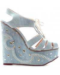 Charlotte Olympia - Pre-owned Cloth Sandals - Lyst