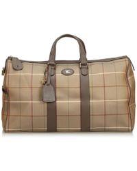 Burberry - Cloth Handbag - Lyst