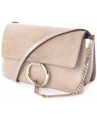 Chloé - Faye Leather Crossbody Bag - Lyst