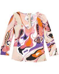 Emilio Pucci - Multicolour Cotton - Lyst