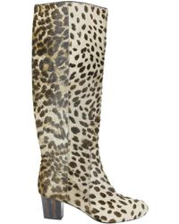 Pre-owned - Pony-style calfskin boots Lanvin Marketable uf8CSPopSz