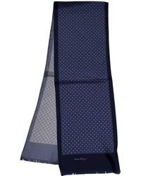 Ferragamo - Silk Scarf & Pocket Square - Lyst