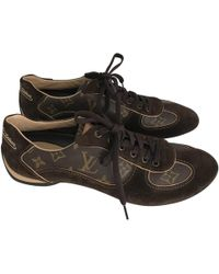 0f9ec9fdbef7 Vestiaire Collective · Louis Vuitton - Cloth Trainers - Lyst
