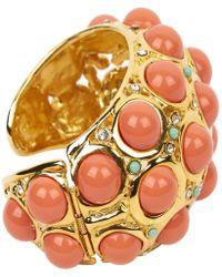 Lanvin - Gold Metal Bracelets - Lyst