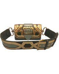 Burberry - Leather Handbag - Lyst