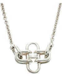 Hermès - Collier en argent - Lyst