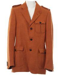 Burberry - Wool Jacket - Lyst
