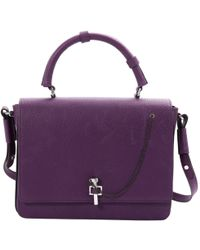 Carven - Purple Leather - Lyst
