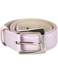 BVLGARI - Pre-owned Leather Belt - Lyst