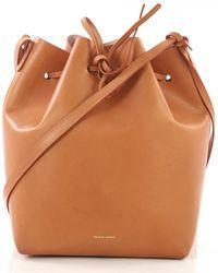 Mansur Gavriel - Bucket Bag Leder Handtaschen - Lyst