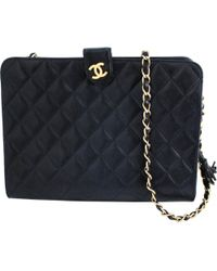 Chanel - Pre-owned Mademoiselle Leather Crossbody Bag - Lyst