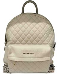 Philipp Plein - Pre-owned Beige Leather Backpacks - Lyst