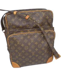 9111fe53fbf5 Lyst - Louis Vuitton Danube Shoulder Lesportsac M45266 Pochette in Brown
