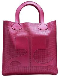 Courreges - Leather Tote - Lyst