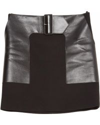 Céline | Pre-owned Wool Mini Skirt | Lyst