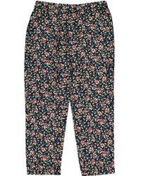 Isabel Marant - Silk Large Pants - Lyst