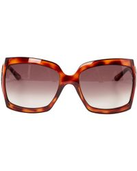 e0ad695b9638 Lyst - Dior Al 13.5 Gan Blallpd Black Round Sunglasses in Black