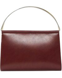 Cartier - Pre-owned Leather Mini Bag - Lyst