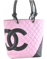 Chanel Pre-owned - Cambon leather handbag fH9Nf