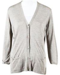 Hermès - Beige Silk Knitwear - Lyst